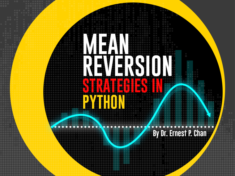 Mean Reversion trading in Python by Ernest Chan